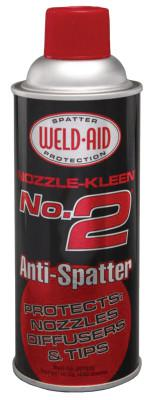 WELD-AID Nozzle-Kleen #2 Anti-Spatters, 16 oz Aerosol Can, Clear