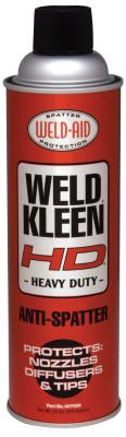 WELD-AID Weld-Kleen Heavy Duty Anti-Spatters, 20 oz Aerosol Can, Clear