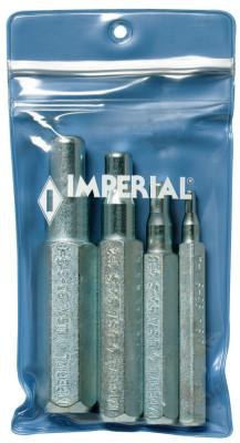 IMPERIAL STRIDE TOOL SWAGING PUNCH W/1/4-3/8-1/2-& 5/8 W/VYNIL CAS