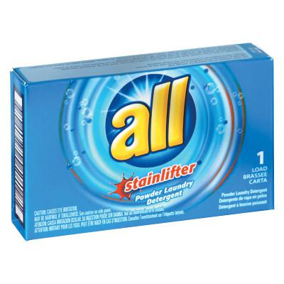 ALL Ultra HE Coin-Vending Powder Laundry Detergent, 1 Load