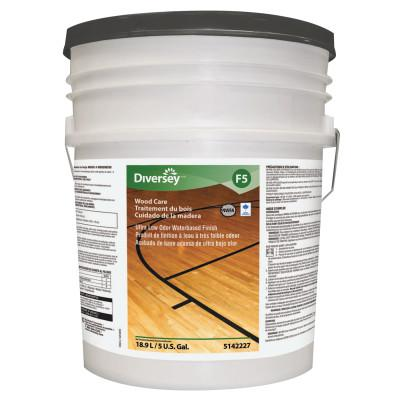 DIVERSEY Ultra Low Odor Waterbased Floor Finish, Liquid, 5 gal. Pail