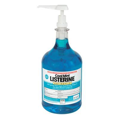 JOHNSON & JOHNSON Listerine Cool Mint Mouthwash, 1 Gallon Pump