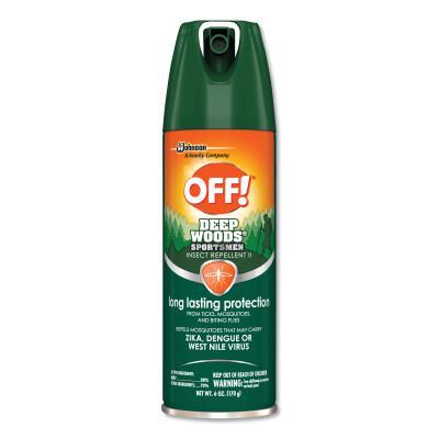 SC JOHNSON OFF! Deep Woods Insect Repellents, 6 oz Aerosol
