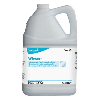 DIVERSEY Wiwax Cleaning & Maintenance Emulsion, Liquid, 1 gal Bottle