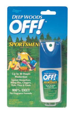 DIVERSEY Deep Woods Sportsmen Insect Repellent, 1 oz Spray Bottle