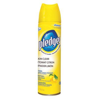 PLEDGE Funiture Polist, Orange Clean Scent, 9.7 oz, Aerosol, 12/CT