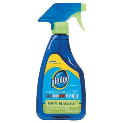 PLEDGE Multi-Surface Cleaner, Clean Citrus Scent, 16oz Trigger Bottle
