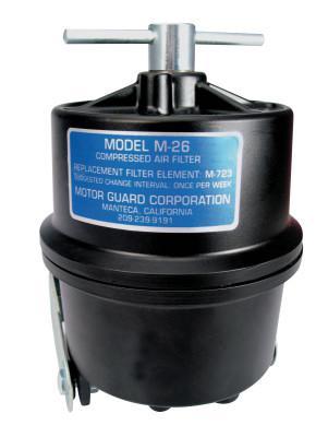 MOTORGUARD Compressed Air Filters, 1/4 in (NPT), Sub-Micronic, Plasma Machines