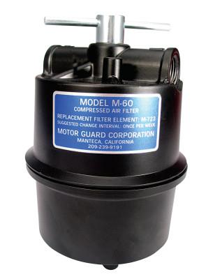 MOTORGUARD Compressed Air Filters, 1/2 in (NPT), Sub-Micronic, Plasma Machines