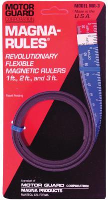 MOTORGUARD Magna-Rules, 1 ft; 2 ft; 3 ft,