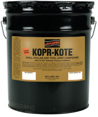 JET-LUBE Kopr-Kote Oilfield Drill Collar and Tool Joint Compound, 5 gal