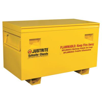 "JUSTRITE Safesite Flammable Combo Safety Chest 29.5""H X 48""W X 24""D"