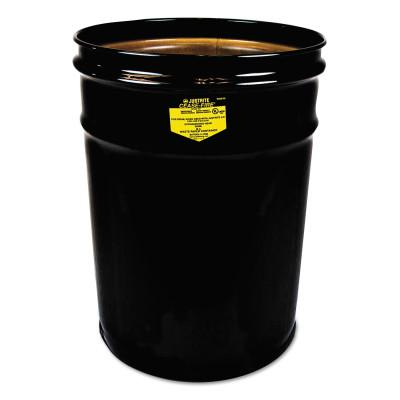 JUSTRITE Cease-Fire Parts - Drums Only, 6 gallon