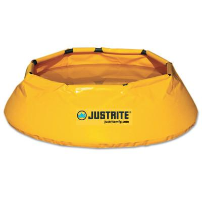JUSTRITE Pop-Up Pool, Yellow, 66 gal, 14 in x 36 in