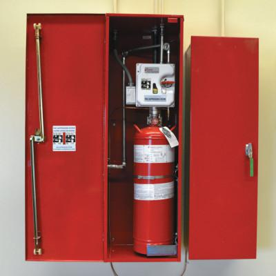 JUSTRITE Fire Suppression Systems, For A, B, C Fires, 21 lb Cap. Wt.