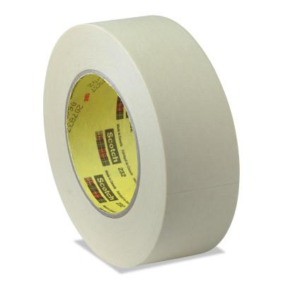 3M INDUSTRIAL Scotch High Performance Masking Tapes 232, 3/4 in X 55 m