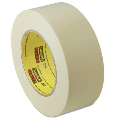 3M™ ABRASIVE General Purpose Masking Tapes 234, 1.88 in X 60.14 yd, Tan
