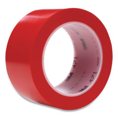 3M™ ABRASIVE Vinyl Tape 471, Red, 4.35 in x 2 in
