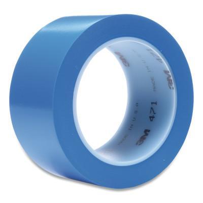3M™ ABRASIVE Vinyl Tape 471, Blue, 4.35 in x 2 in