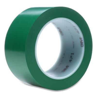 3M™ ABRASIVE Vinyl Tape 471, Green, 4.35 in x 2 in