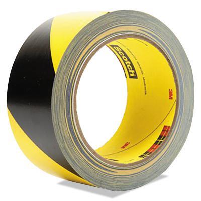 3M™ ABRASIVE Safety Stripe Tape 5700, 2 in x 36 yd, Black/White