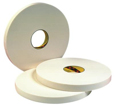 3M INDUSTRIAL Double Coated Urethane Foam Tapes 4016, 1/2 in x 36 yd, 1/16 in, Natural