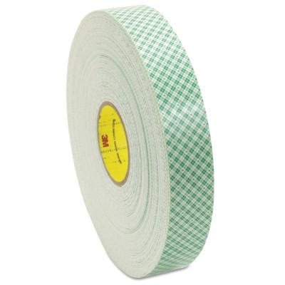 3M™ ABRASIVE Double Coated Urethane Foam Tapes 4016, 3/4 in X 36 yd, 62 mil, Off-White