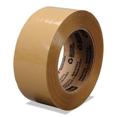 3M INDUSTRIAL Scotch® Industrial Box Sealing Tapes 371, 48mm x 50 m, Tan