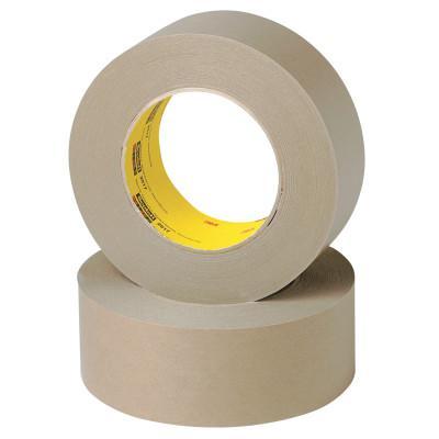 3M™ ABRASIVE Scotch Flatback Tape 2517, 72 mm X 55 m, 6.5 mil, Medium Brown