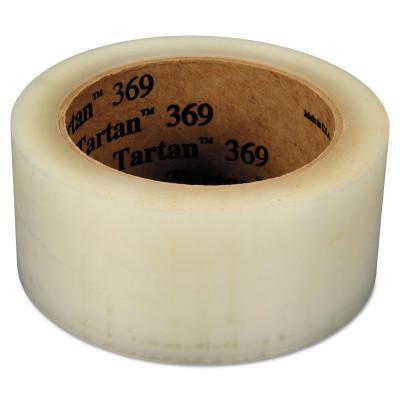 3M INDUSTRIAL Tartan™ Box Sealing Tape 369, 48mm x 100m, clear
