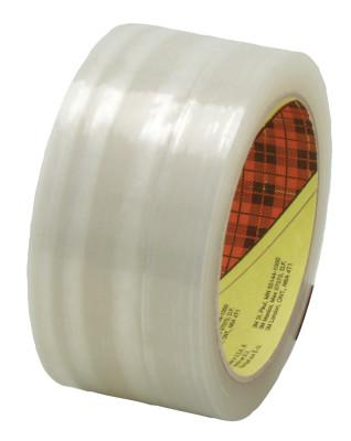 3M INDUSTRIAL Scotch® High Performance Box Sealing Tapes 373, 72mm x 50 m, Clear