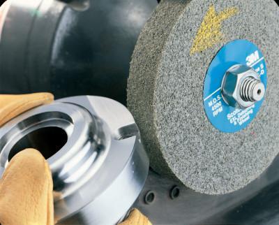 3M™ ABRASIVE Scotch-Brite EXL Deburring Wheels, 6 X 1 X 1, Fine, 6,000 rpm, Silicon Carbide