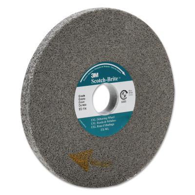 3M™ ABRASIVE Scotch-Brite EXL Deburring Wheel, 9-SF, 6X1/2X1, Fine, 6000 rpm, Silicon Carbide