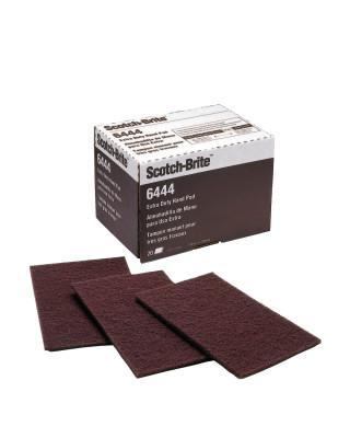 3M™ ABRASIVE Scotch-Brite Hand Pads, Fine, Aluminum Oxide, Brown