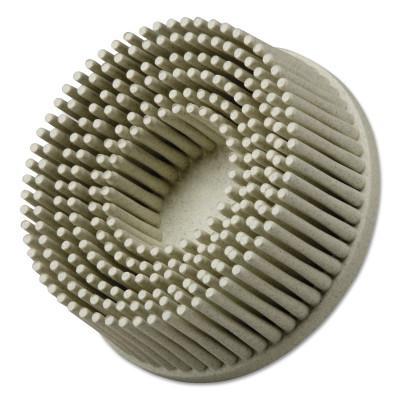 3M ABRASIVE Scotch-Brite Roloc Bristle Discs, 1 in Dia, 5/8 in Arbor,  Ceramic