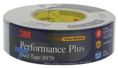 3M™ ABRASIVE Performance Plus Duct Tape 8979, Slate Blue, 48 mm x 22.8 m x 12.6 mil