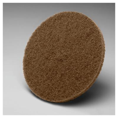 3M OH&ESD Scotch-Brite Hookit Cut and Polish Discs, 5 in Dia., Aluminum Oxide