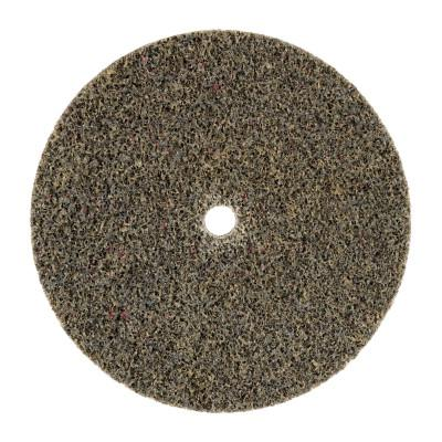 3M ABRASIVE Scotch-Brite Deburr and Finish PRO Unitized Wheels, 3 Dia, 1/4 in Arbor, Ceramic