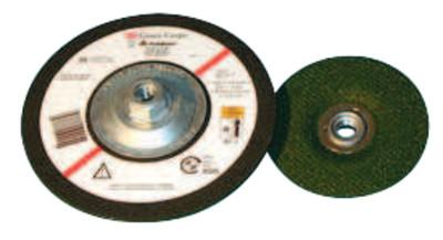 3M™ ABRASIVE Flexible Grinding Wheel, Quick Change, 4 1/2 in Dia, 1/8 in Thick, 36 Grit