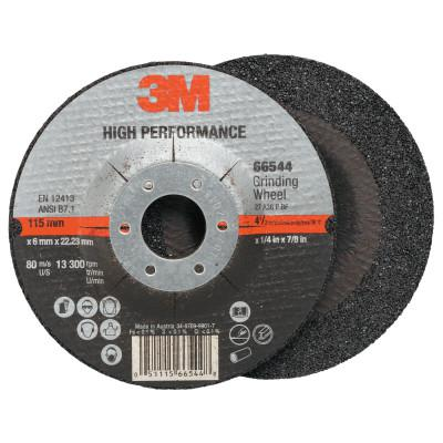 3M ABRASIVE Cut-off Wheel Abrasives, 36 Grit, 13,300 rpm