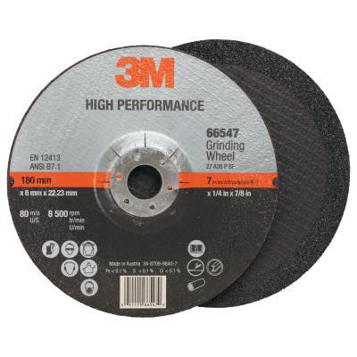 3M ABRASIVE Cut-off Wheel Abrasives, 36 Grit, 8,500 rpm