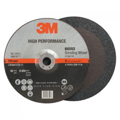 3M ABRASIVE Cut-off Wheel Abrasives, 36 Grit, 6,650 rpm