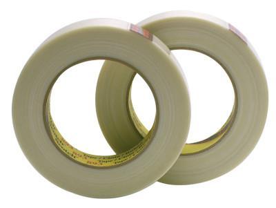 3M INDUSTRIAL Scotch Industrial Grade Filament Tape 893, 0.47 in x 60 yd, 300 lb/in Strength