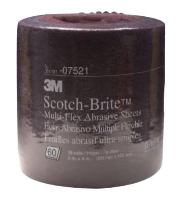 3M™ ABRASIVE Scotch-Brite Multi-Flex Sheet Roll, Aluminum Oxide, Very Fine