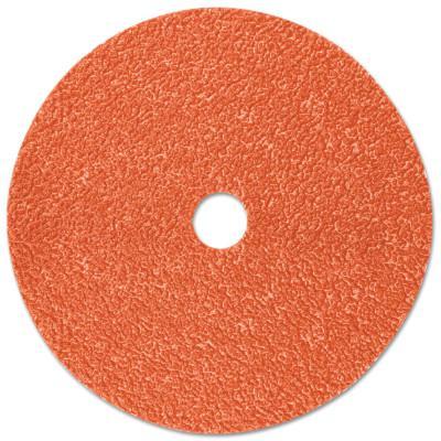 3M™ ABRASIVE Cubitron II Fibre Discs 987C, Shaped Ceramic Grain, 4 1/2 in Dia., 36 Grit