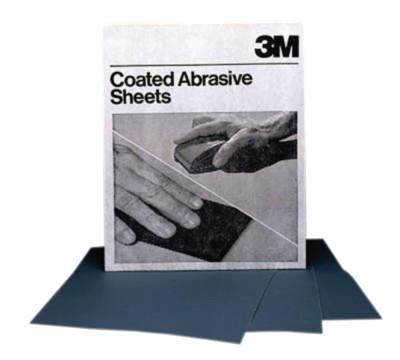 3M™ ABRASIVE 3M Abrasive Wetordry Sheets, Silicon Carbide Paper, 600 Grit
