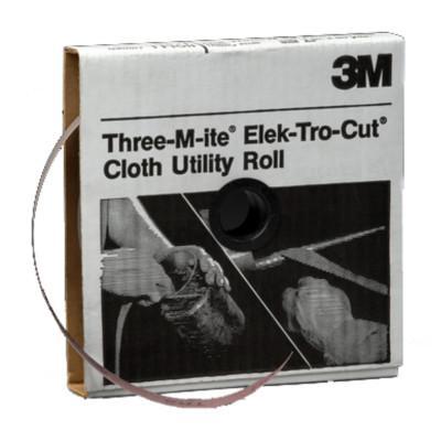 3M ABRASIVE 211K Utility Cloth Rolls, 2 in, 50 yd, 80 Grit