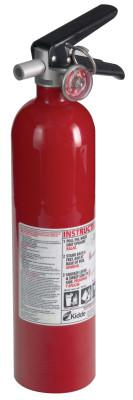 KIDDE Pro Consumer Fire Extinguishers, For Common Combustibles, 2.6 lb Cap. Wt.