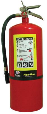 KIDDE Oil Field Fire Extinguishers, For Class A, B and C Fires, 10 lb Cap. Wt.