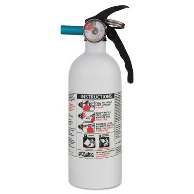 KIDDE Automobile Fire Extinguishers, Class B and C Fires, 2 lb